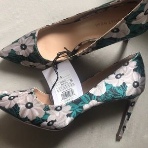Who what wear floral heels